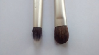 Pencil Brush & All-Over Shadow Brush