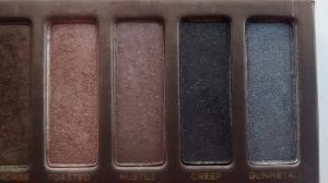 From Left to Right: Toasted, Hustle, Creep & Gunmetal