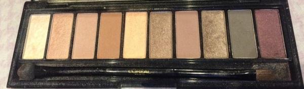 L'Oreal Nude Palette.